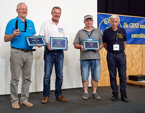 GDXF Trophy Beste DXpedition 2017